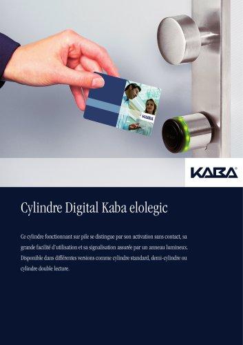 Cylindres digitaux Kaba