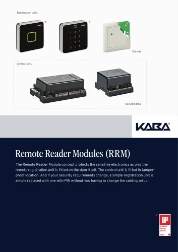 Remote Reader Modules (RRM)