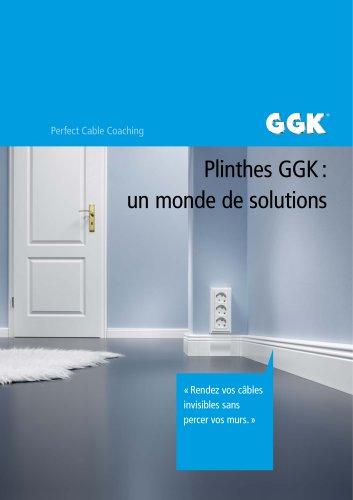Plinthes GGK : un monde de solutions
