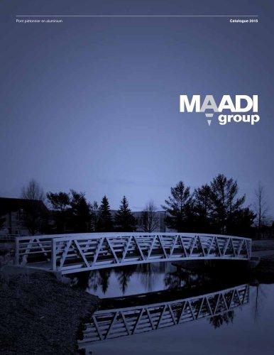 MAADI Group Pont piétonnier en aluminium Catalogue