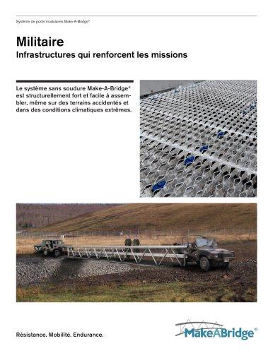 Make-A-Bridge® Système de ponts - Militaire