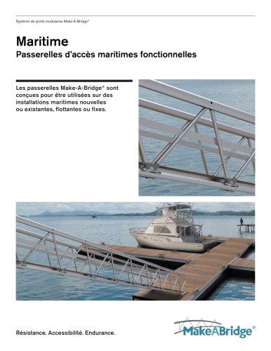 Make-A-Bridge® Système de ponts modulaires - Maritime