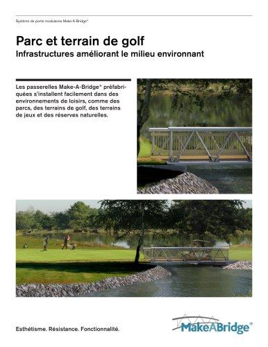 Make-A-Bridge® Système de ponts - Parc et terrain de golf