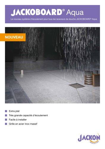 JACKOBOARD Aqua Système d´écoulement FR
