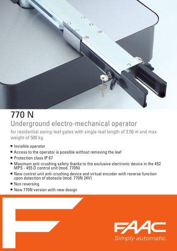 770N 24V operator