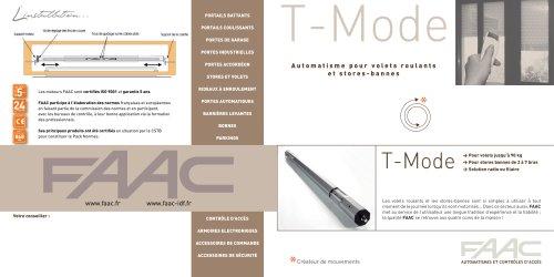 Gamme TM58 - moteurs tubulaires ø 58 mm