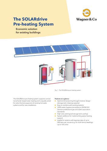 The SOLARdrive Pre-heating System