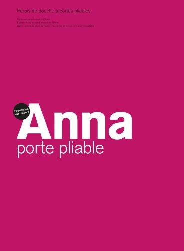Anna pliable,Parois de douche à portes pliables