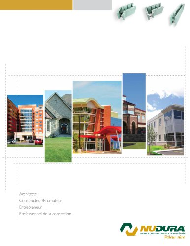 Nudura Brochure - Propriétaire