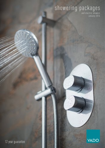 showering packages and electric showers