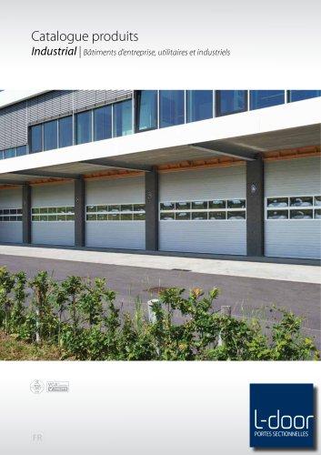 Catalogue produits Industrial | Bâtiments d'entreprise, utilitaires et industriels