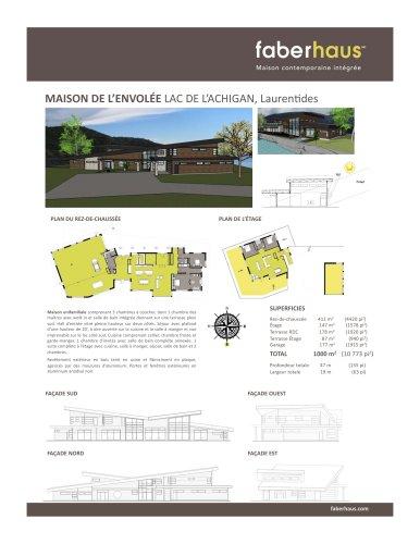 MAISON DE L'ENVOLÉE LAC DE L'ACHIGAN, Laurentides