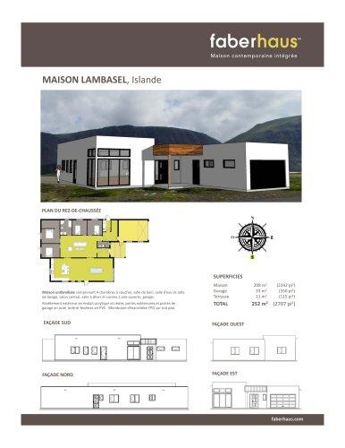 MAISON LAMBASEL, Islande