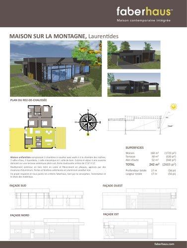 MAISON SUR LA MONTAGNE, Laurentides
