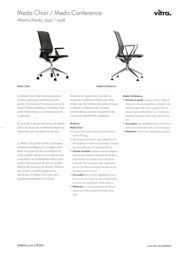 Vitra Conference Catalogue PdfDocumentation Meda Chair yvN8wOn0m