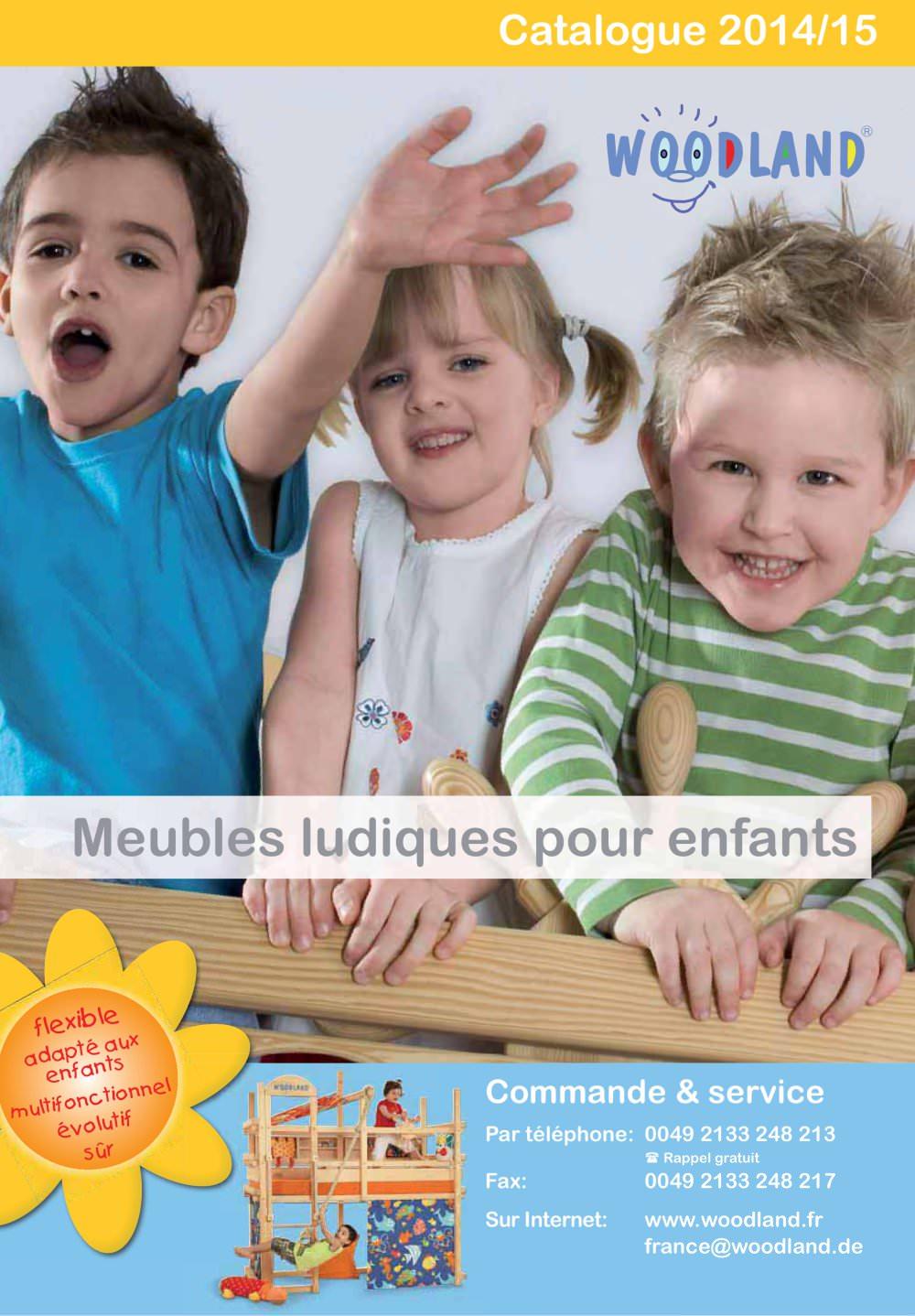 Catalogue meubles enfants 2015 WOODLAND Meubles pour pour pour enfants 232e00