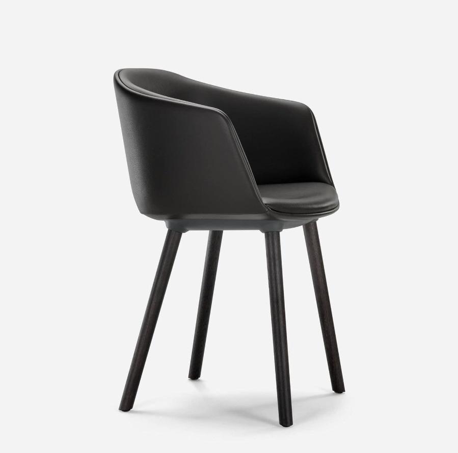 MAX DESIGN : chaise contemporaine / à roulettes / personnalisable / pivotante