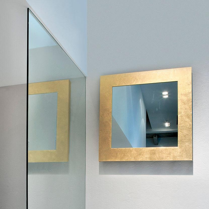 Miroir mural / chauffant / contemporain / rectangulaire