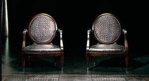 fauteuil-medaillon