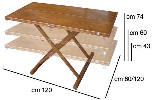 Table contemporaine / en teck / rectangulaire / de jardin - ROUND ...