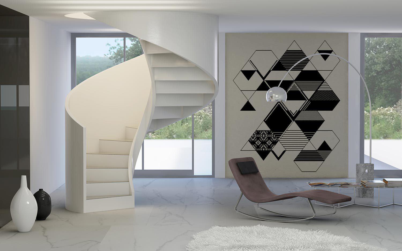 Escalier Interieur Beton Design escalier en colimaçon / structure en béton / marche en béton