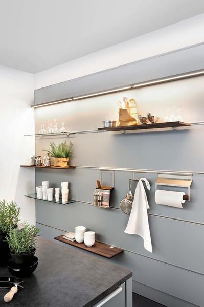 étagère Murale Contemporaine En Bois Pour Cuisine