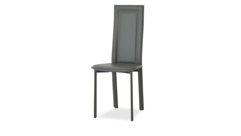 chaise moderne dossier haut