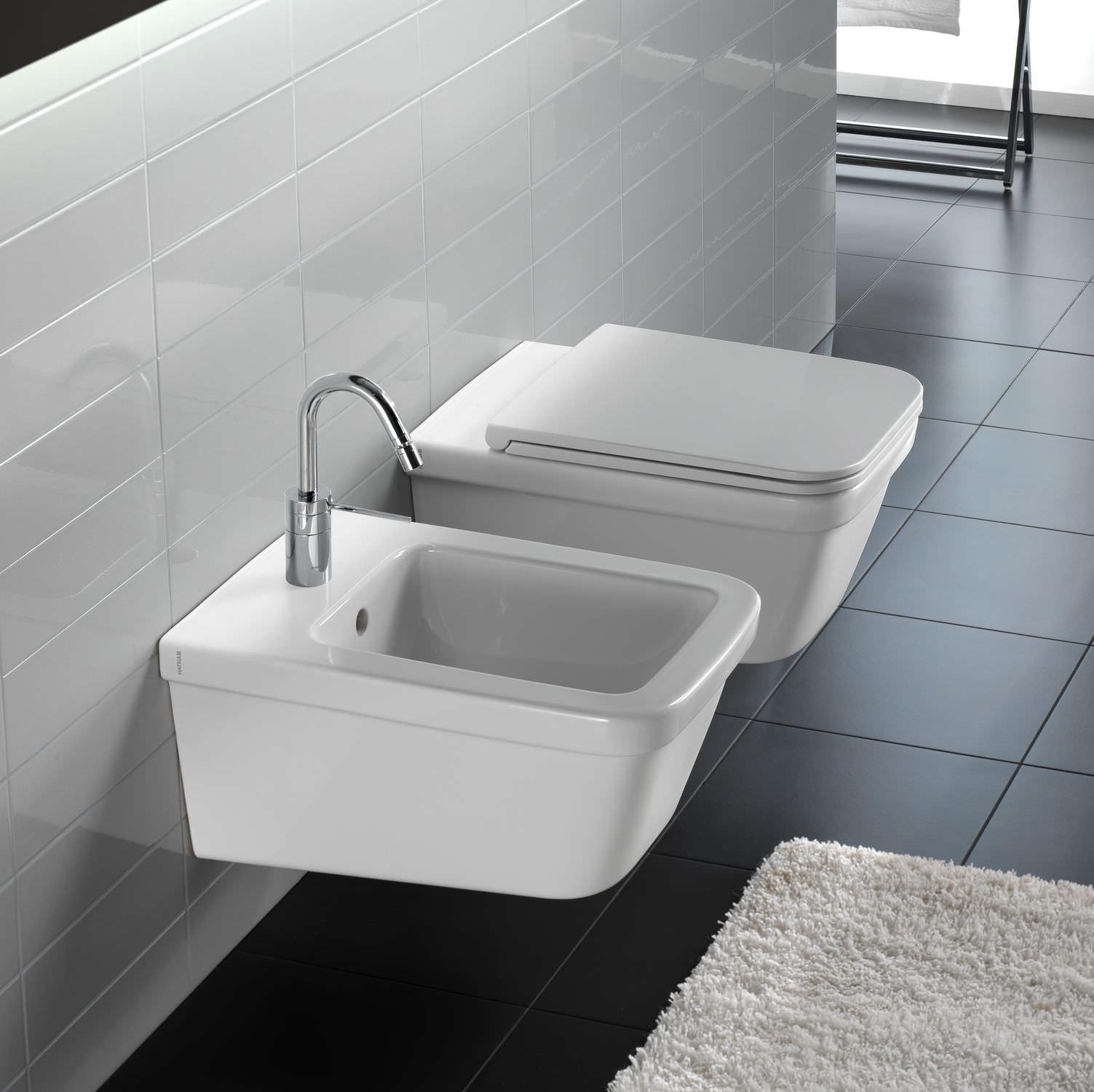 Monter Des Toilettes Suspendues toilettes suspendue / en céramique - yxj001 - hatria srl
