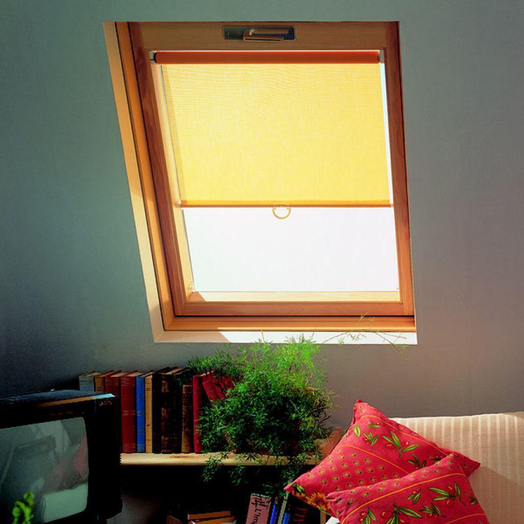 Photo De Rideau Pour Fenetre store enrouleur / en toile / pour fenêtre de toit / sur