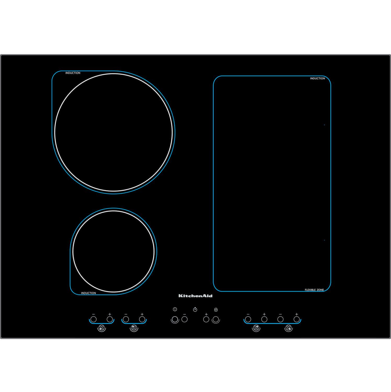 Comparatif Plaque Mixte Induction Gaz table de cuisson à induction / 3 foyers - khis 7004