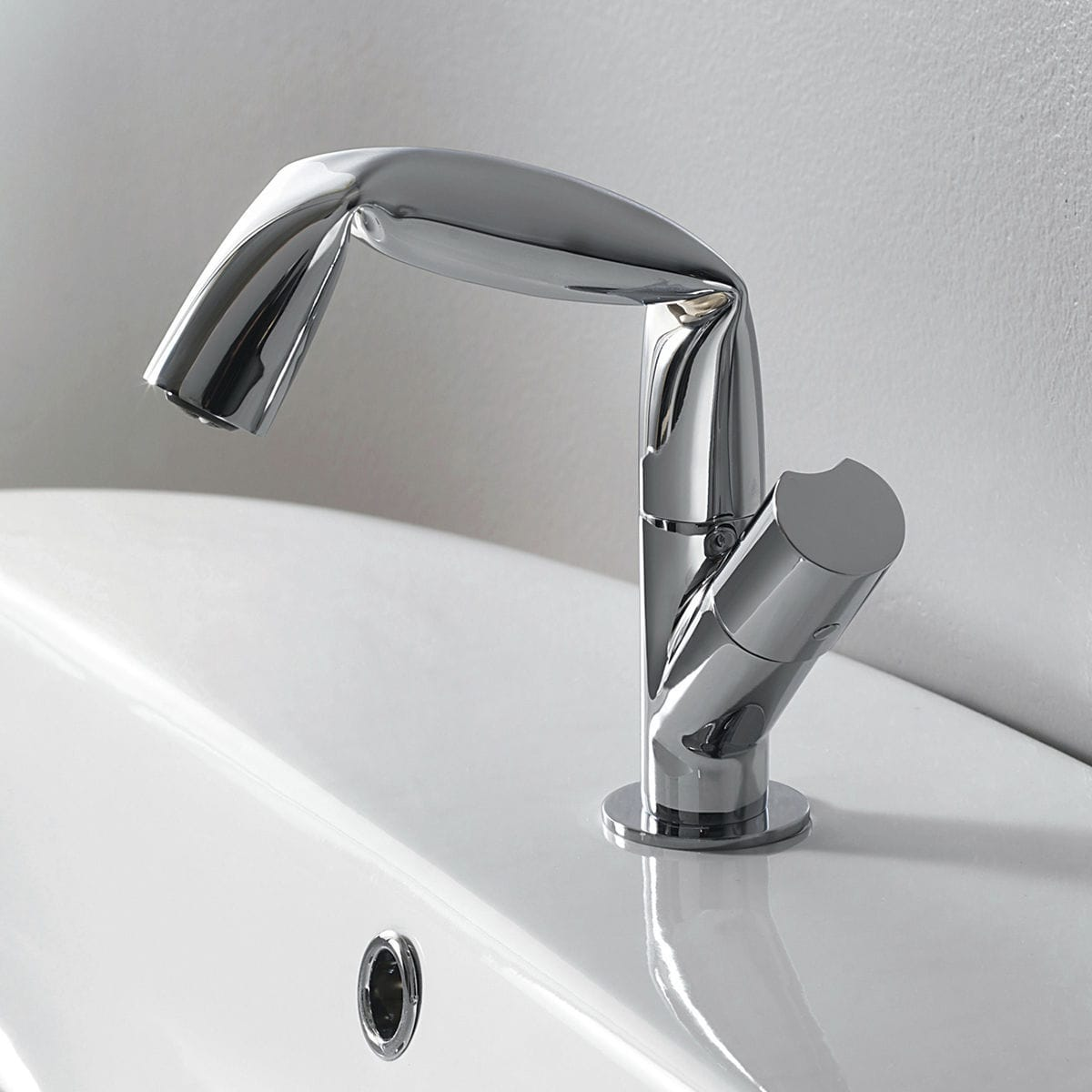 Etagere Pour Vasque A Poser mitigeur pour vasque / en laiton chromé / 1 trou - fold