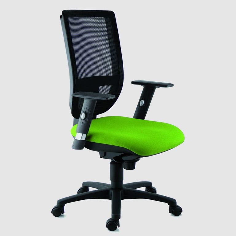 Chaise de bureau contemporaine à roulettes avec