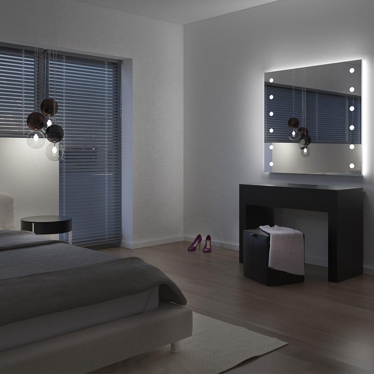Miroir Mural Lumineux De Salon De Chambre A Coucher