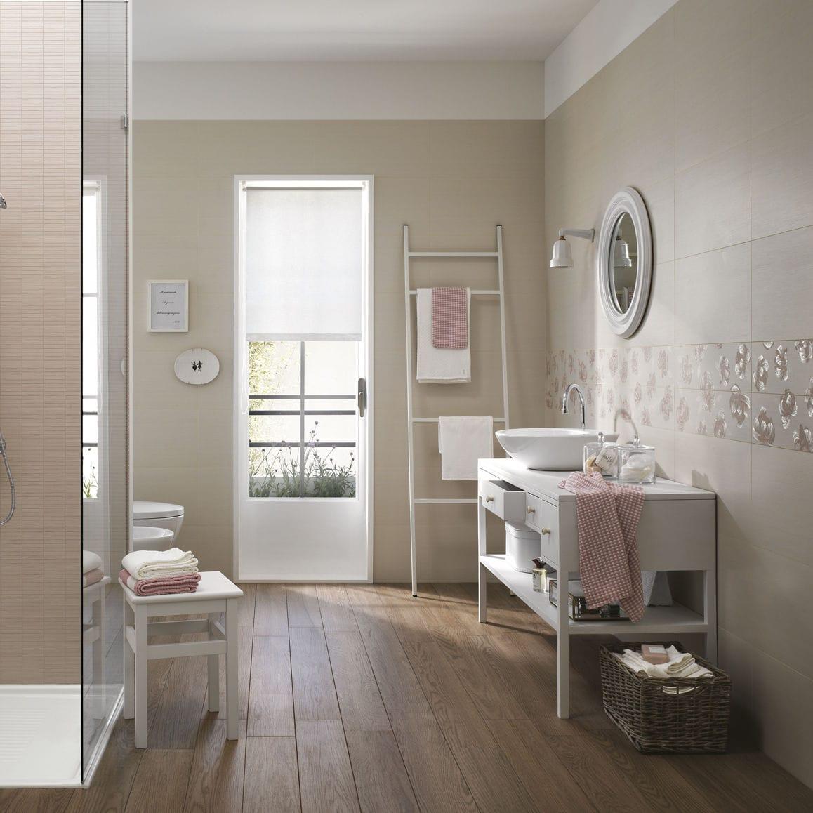 Salle De Bain Motif carrelage de salle de bain / mural / en céramique / à motif