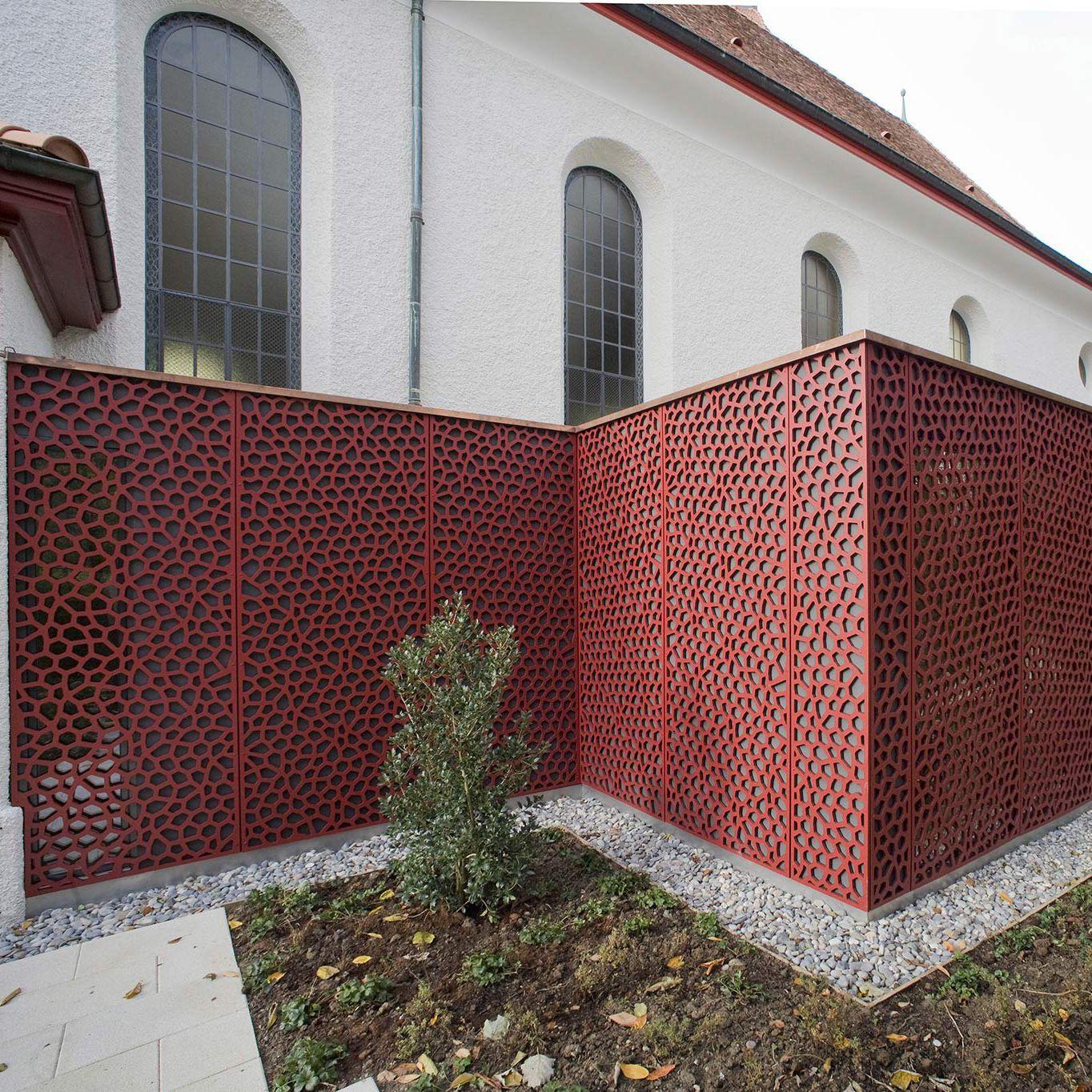 Bois Pour Brise Vue panneau décoratif en fibre de bois / pour aménagement