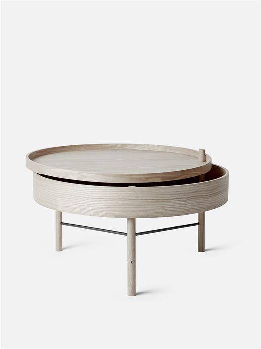 Table Basse Contemporaine En Frêne En Chêne Blanc