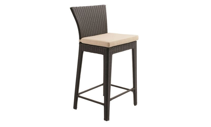 bar avec Chaise accoudoirs rotin de d en contemporaine 4q5ARL3j