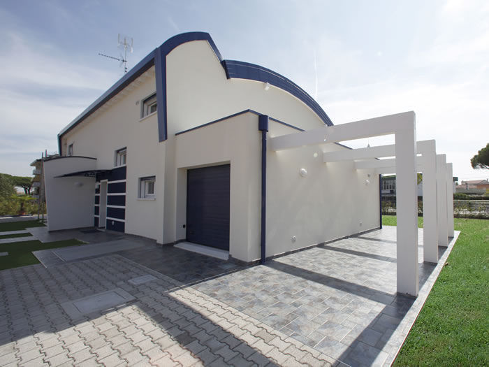 Maison modulaire / contemporaine / à ossature bois / à ...
