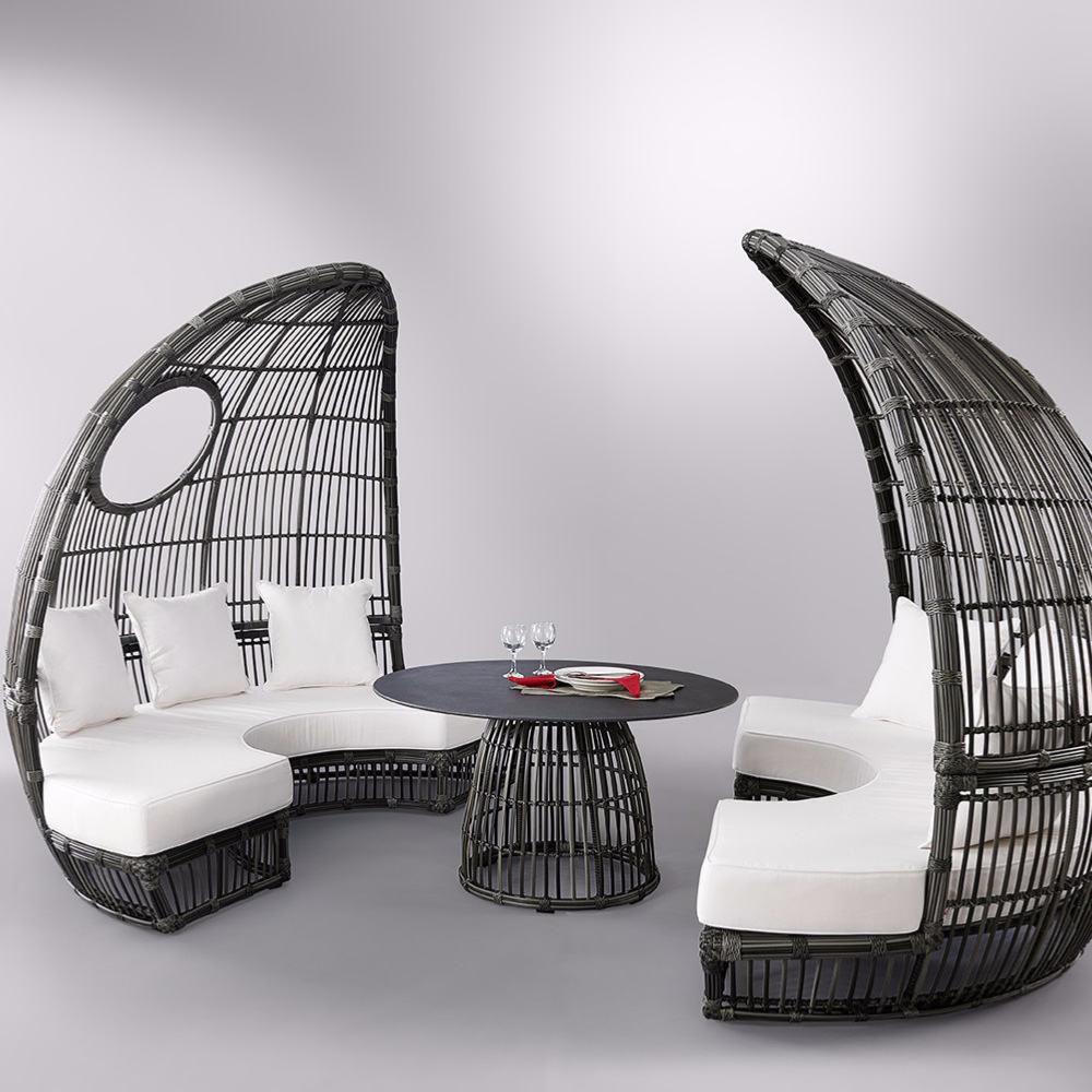 Canapé modulable / en arc de cercle / contemporain / de ...