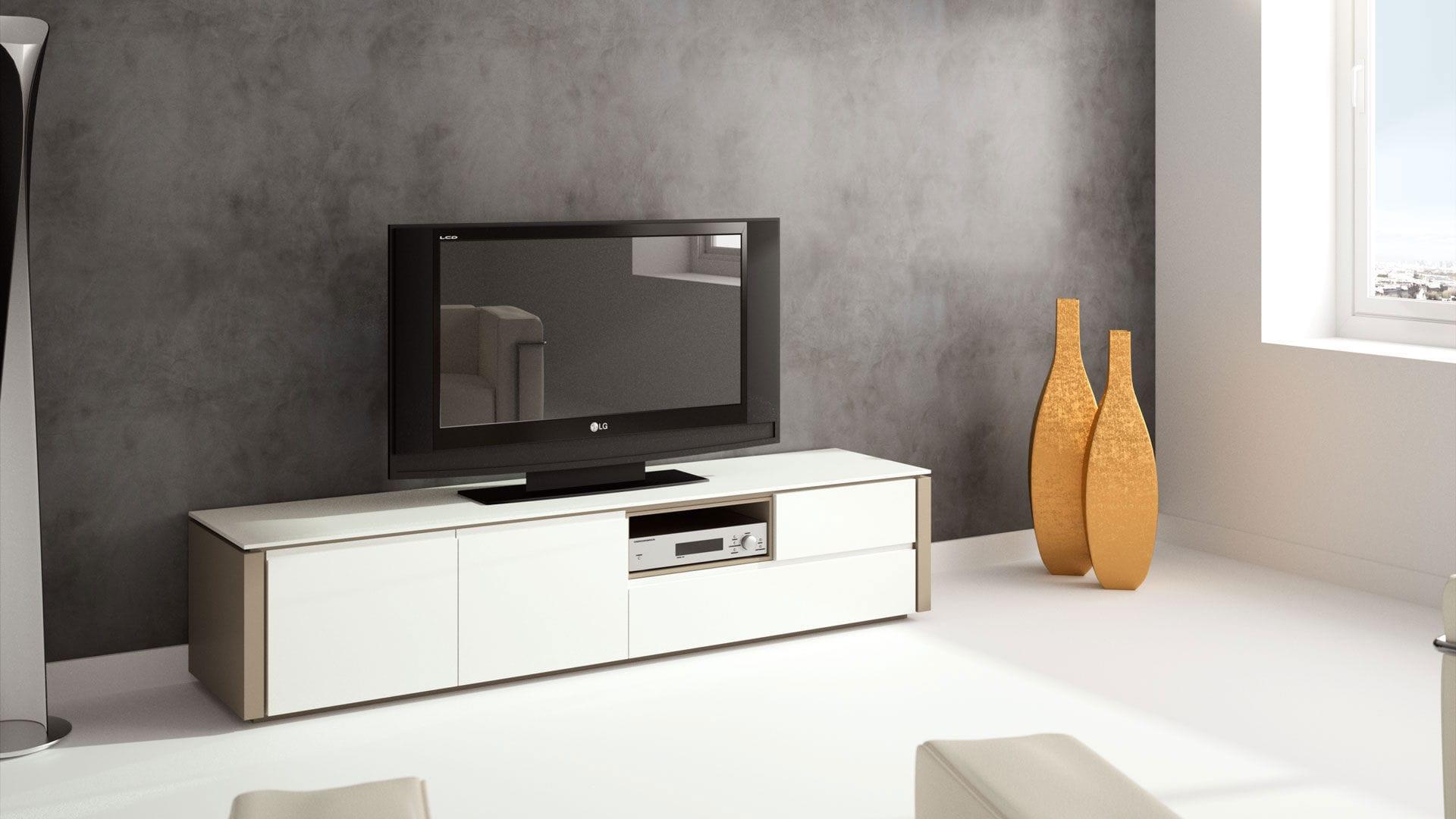 la meilleure attitude 5e8d9 18c67 Meuble TV contemporain / en bois - MILANO - Movis Furniture
