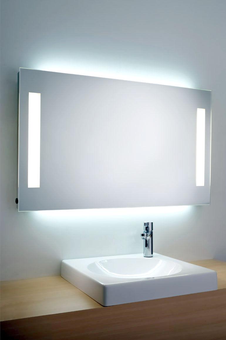 Miroir Eclairant Salle De Bain miroir de salle de bain mural / lumineux / antibuée