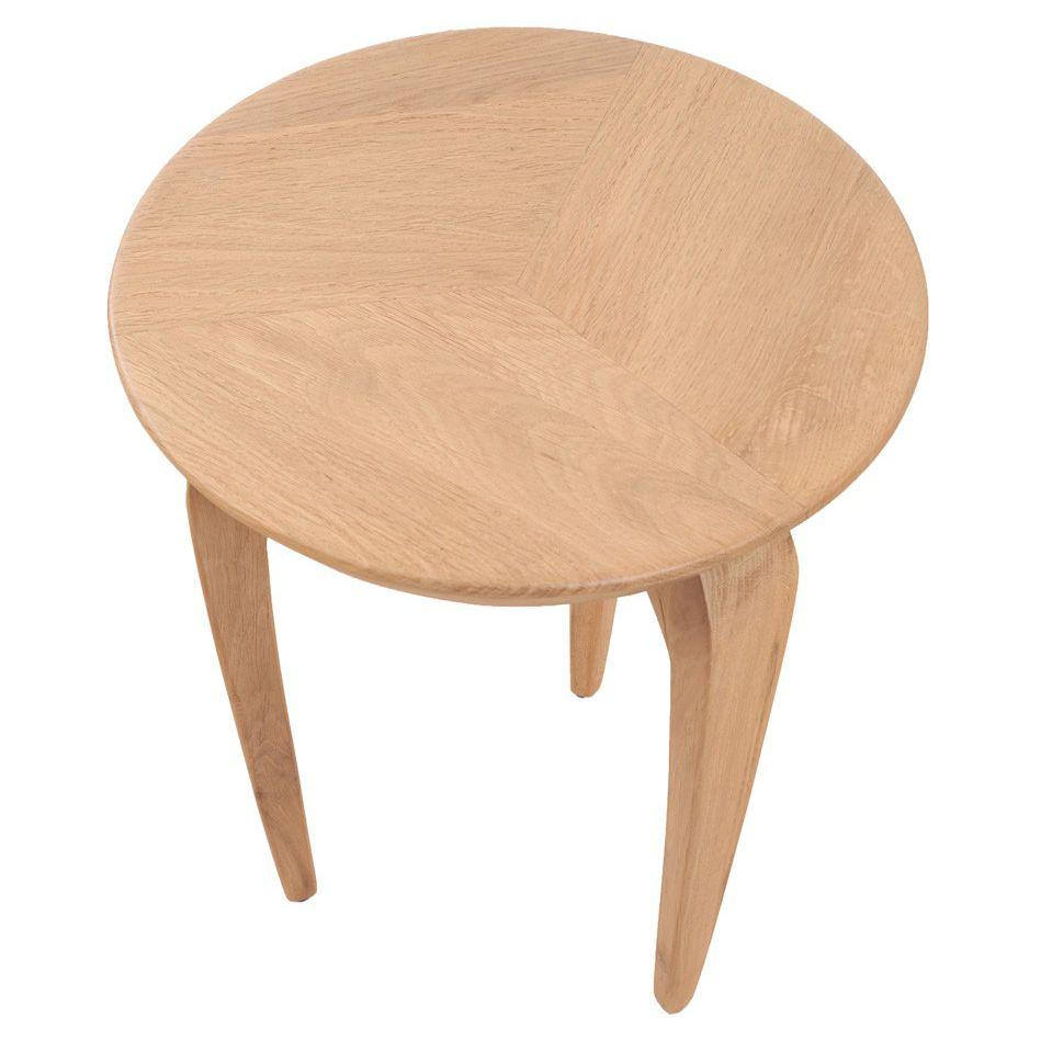 bois d'appoint chêne massif contemporaine en Table en CrdxBeWo