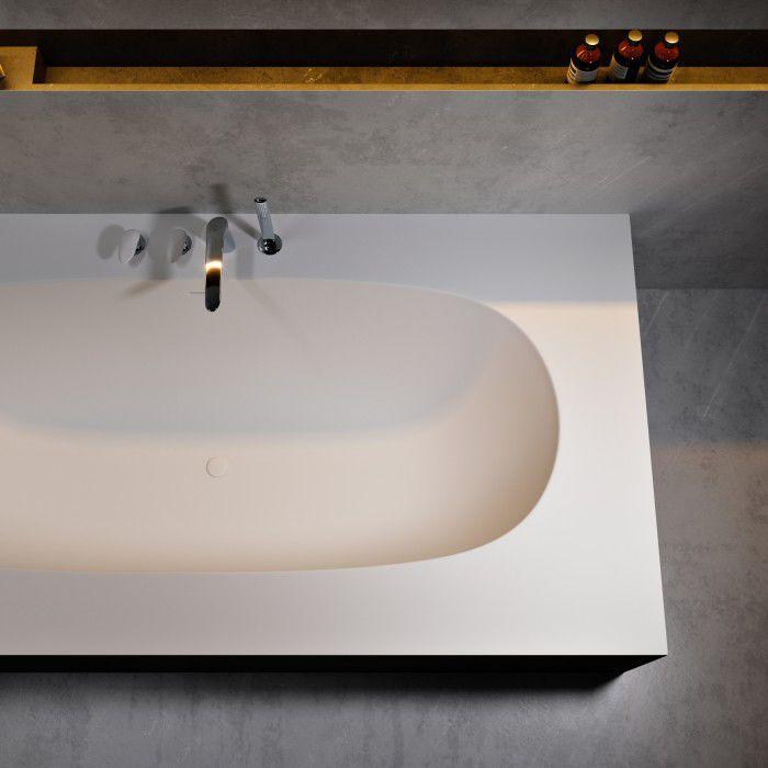 Baignoire A Encastrer En Corian Delight 8420 By Dupont Riluxa