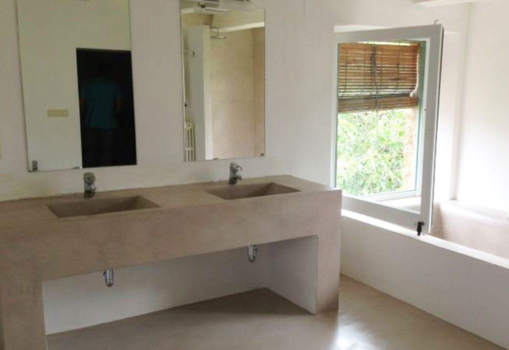 Micro béton pour intérieur / pour salle de bain - Living Concrete Ltd