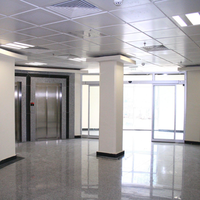 Faux Plafond Suspendu En Dalles Isolantes faux-plafond en métal / en dalles / en panneaux / acoustique t24 lay-in  system butem metal
