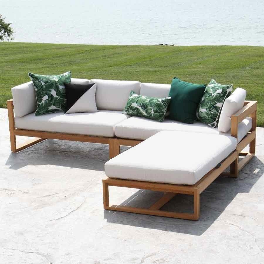 Grand Coussin Pour Exterieur coussin pour canapé / extérieur / carré / à motif - pillow