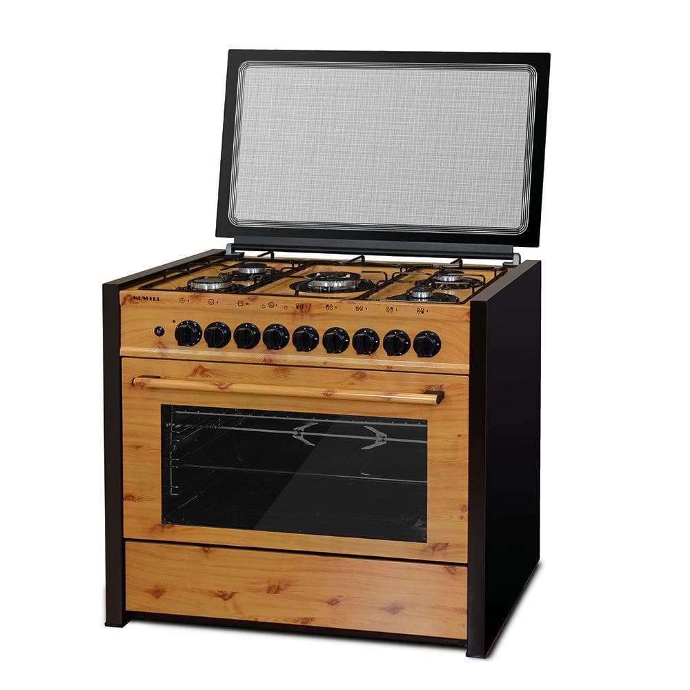 Piano De Cuisson Gaz Et Bois cuisinière à gaz / à gaz / en fonte / wok - 69-gg50 - kumtel
