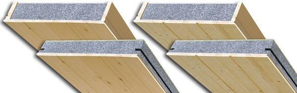 Panneau de sous-toiture autoporteur - WOODTOUCH - BEOPAN - âme en polystyrène / sous-face en bois