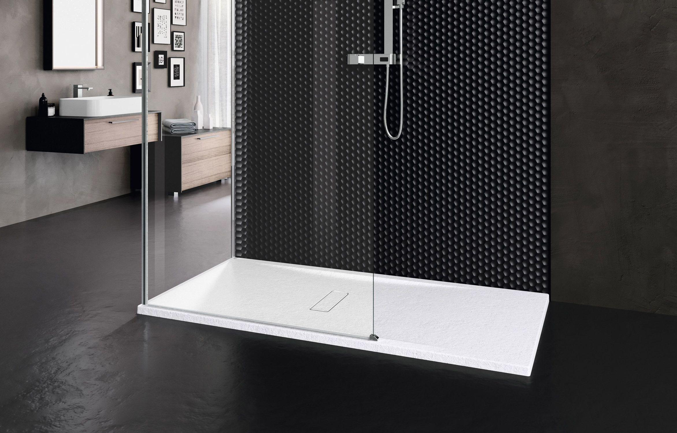 receveur de douche rectangulaire  touch  novellini  à