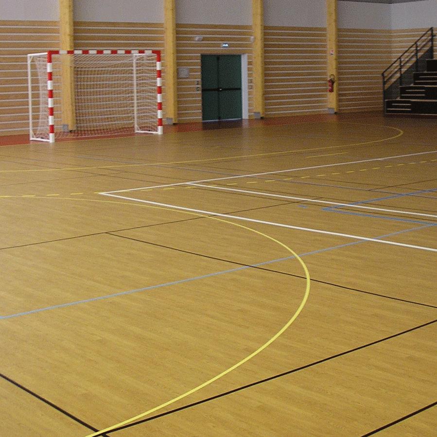Sol Pour Salle De Sport sol sportif en vinyle / d'intérieur / pour salle multisport taraflex™ m  comfort gerflor - contract sport & contract flooring